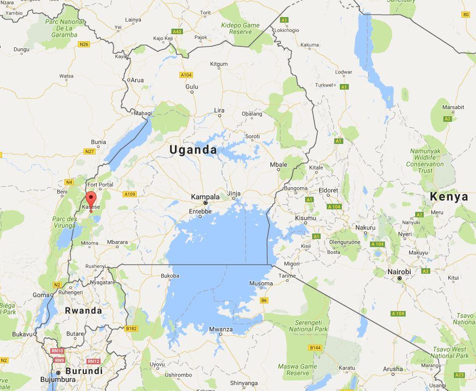 Kasese district in Rwenzori region