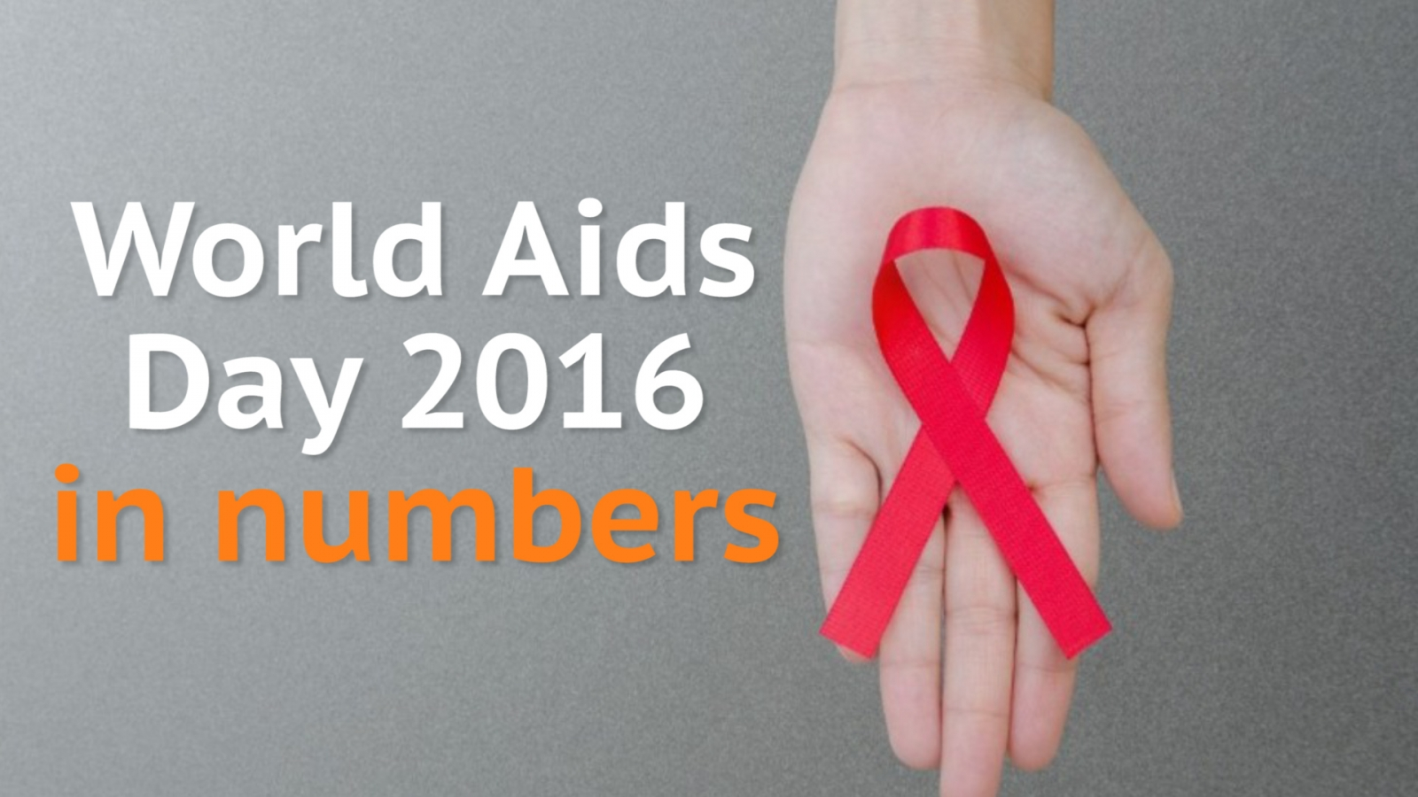 World Aids Day 2016: HIV in numbers