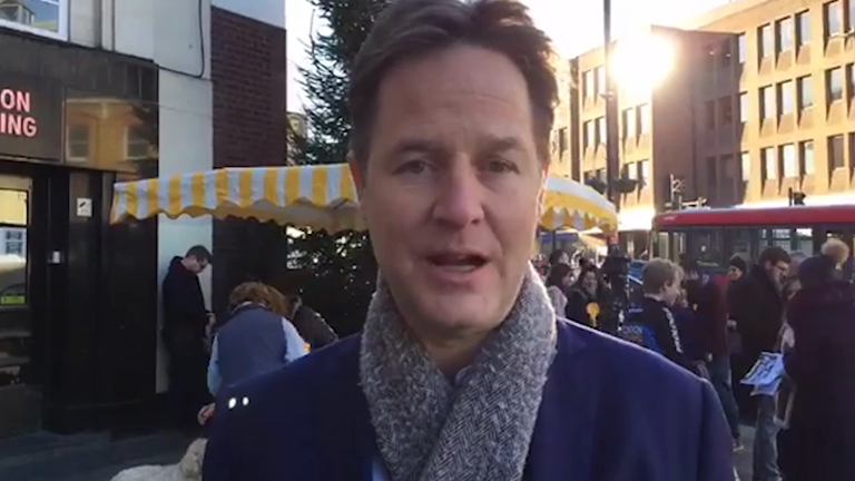 Nick Clegg: the government are 'completely clueless' about Brexit
