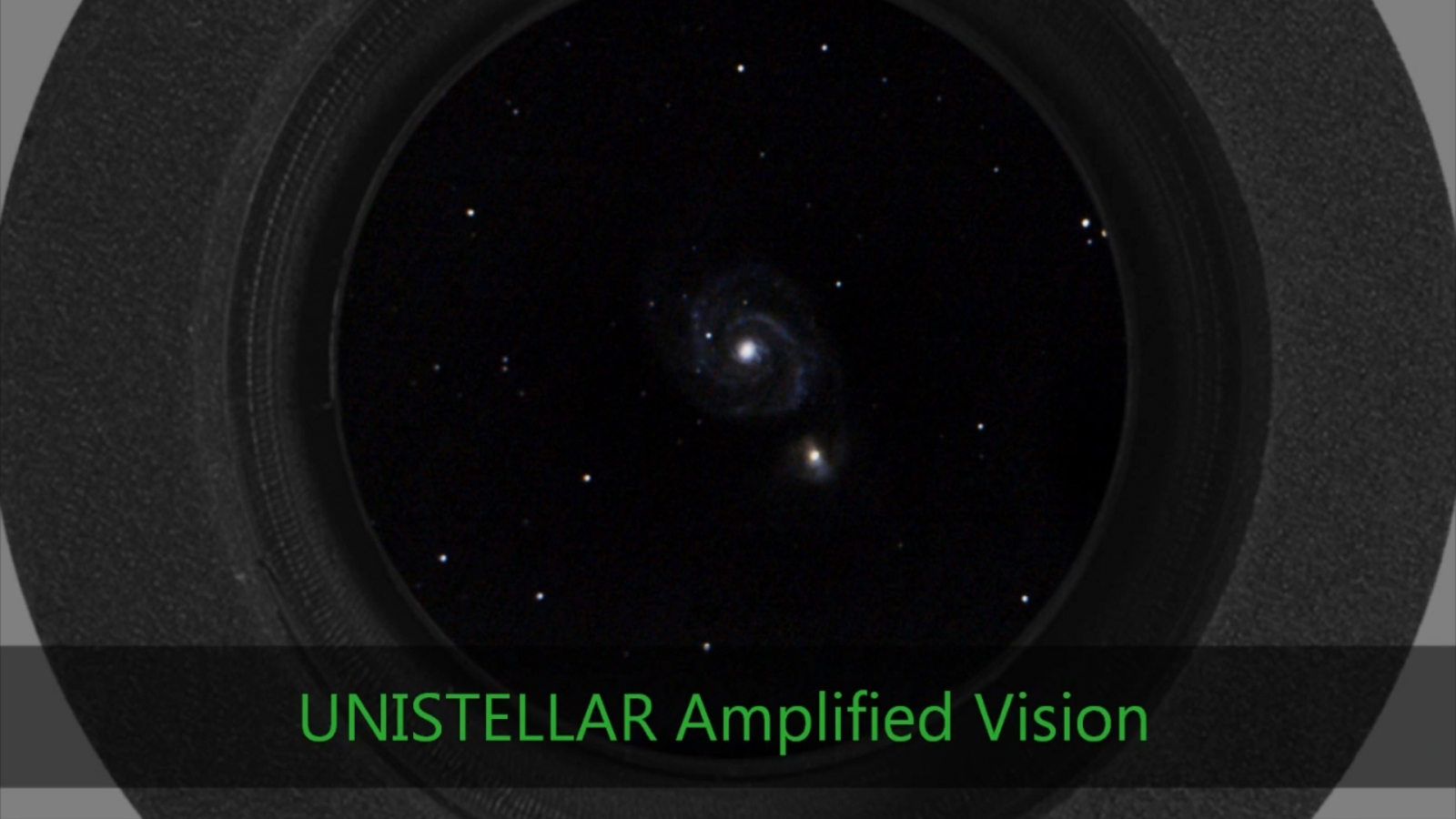 Unistellar amplified vision of the universe