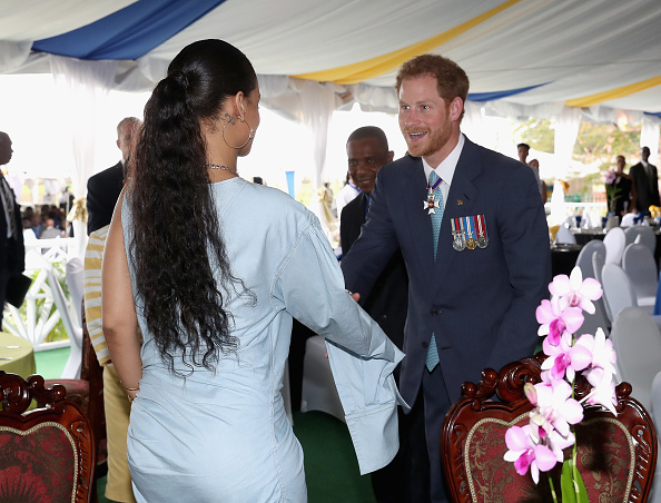 Prince Harry meets Rihanna