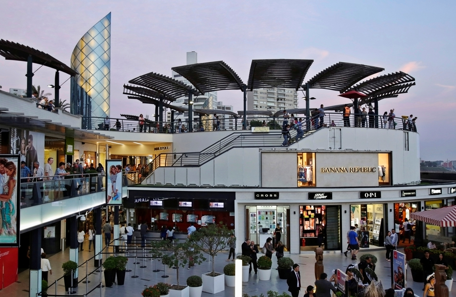 Larcomar shopping mall, Peru