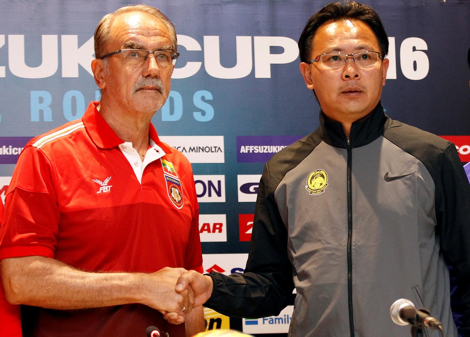 Myanmar-Malaysia soccer match