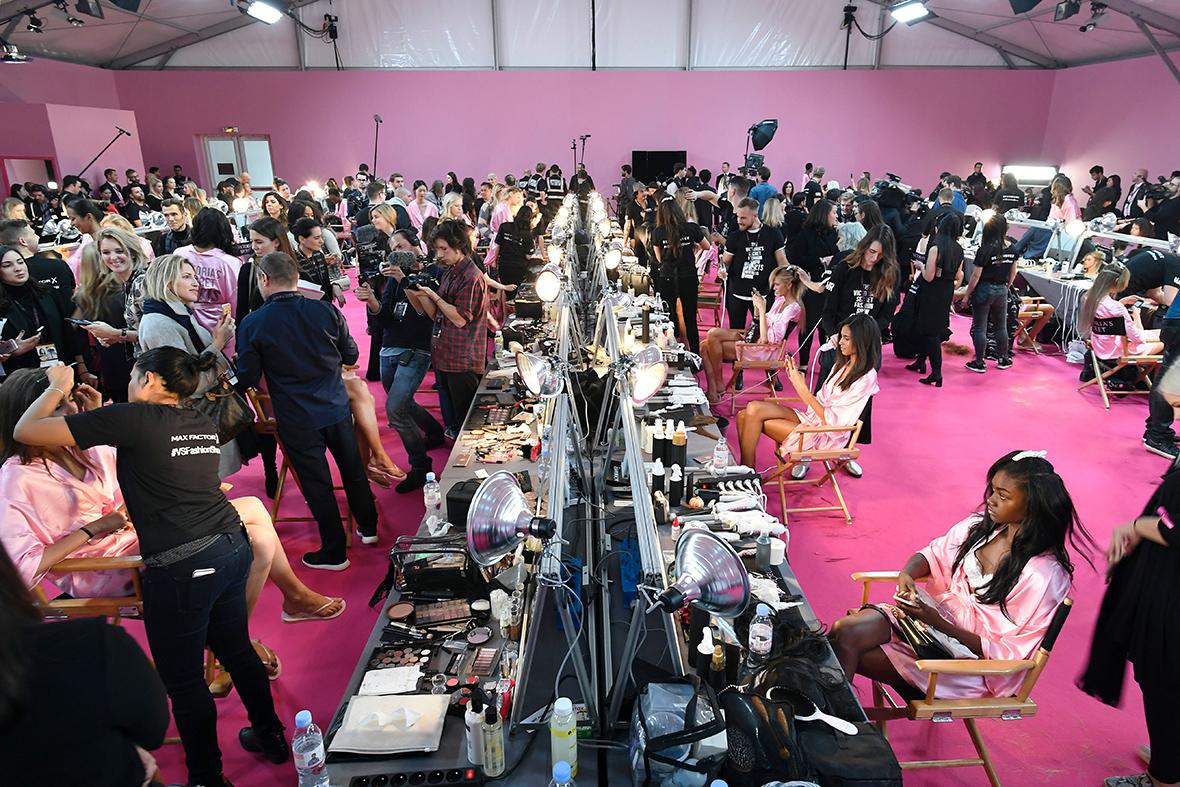 Victorias Secret backstage