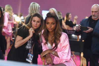 Victorias Secret backstage