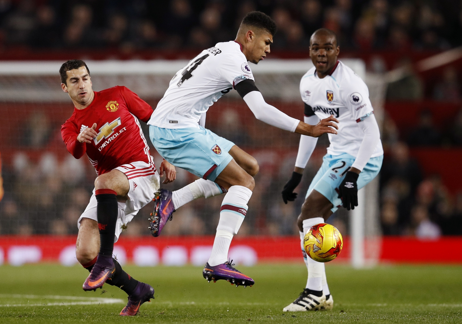 Henrikh Mkhitaryan & Ashley Fletcher