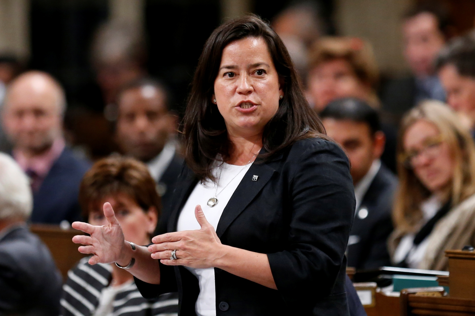 Canada Justice Minister Jody Wilson-Raybould