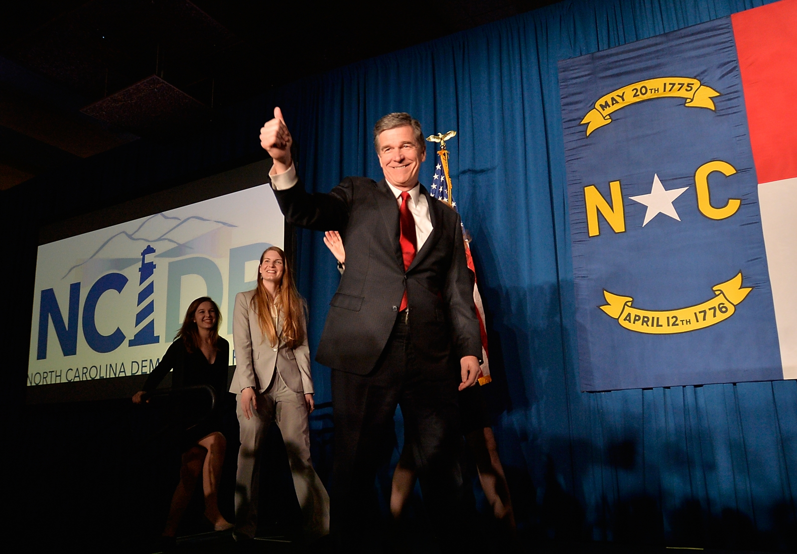 Presumptive NC Governor-elect, Roy Cooper