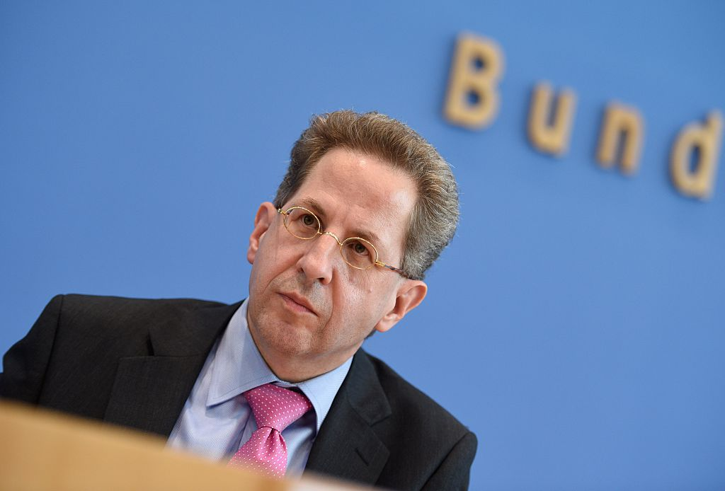German domestic intelligence agency chief Hans-Georg Maassen