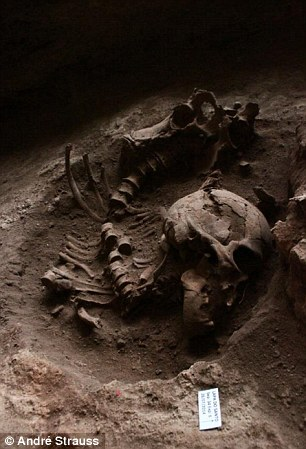 burial skeletal remains