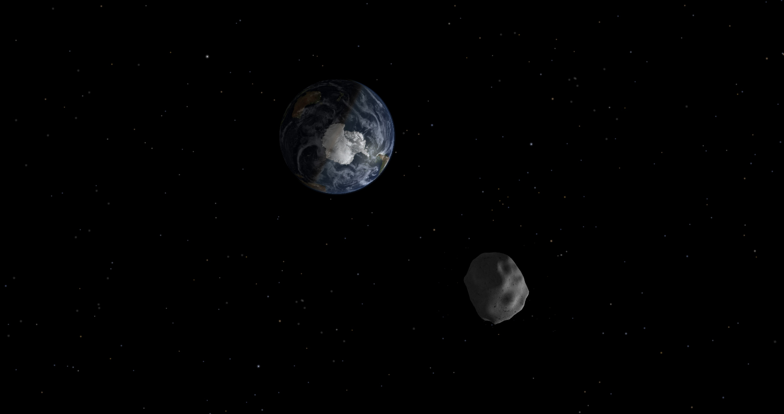 asteroid mars earth - photo #8