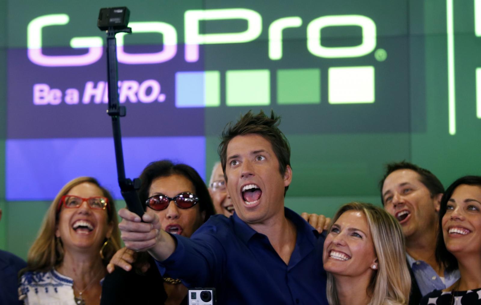 GoPro CEO Nick Woodman