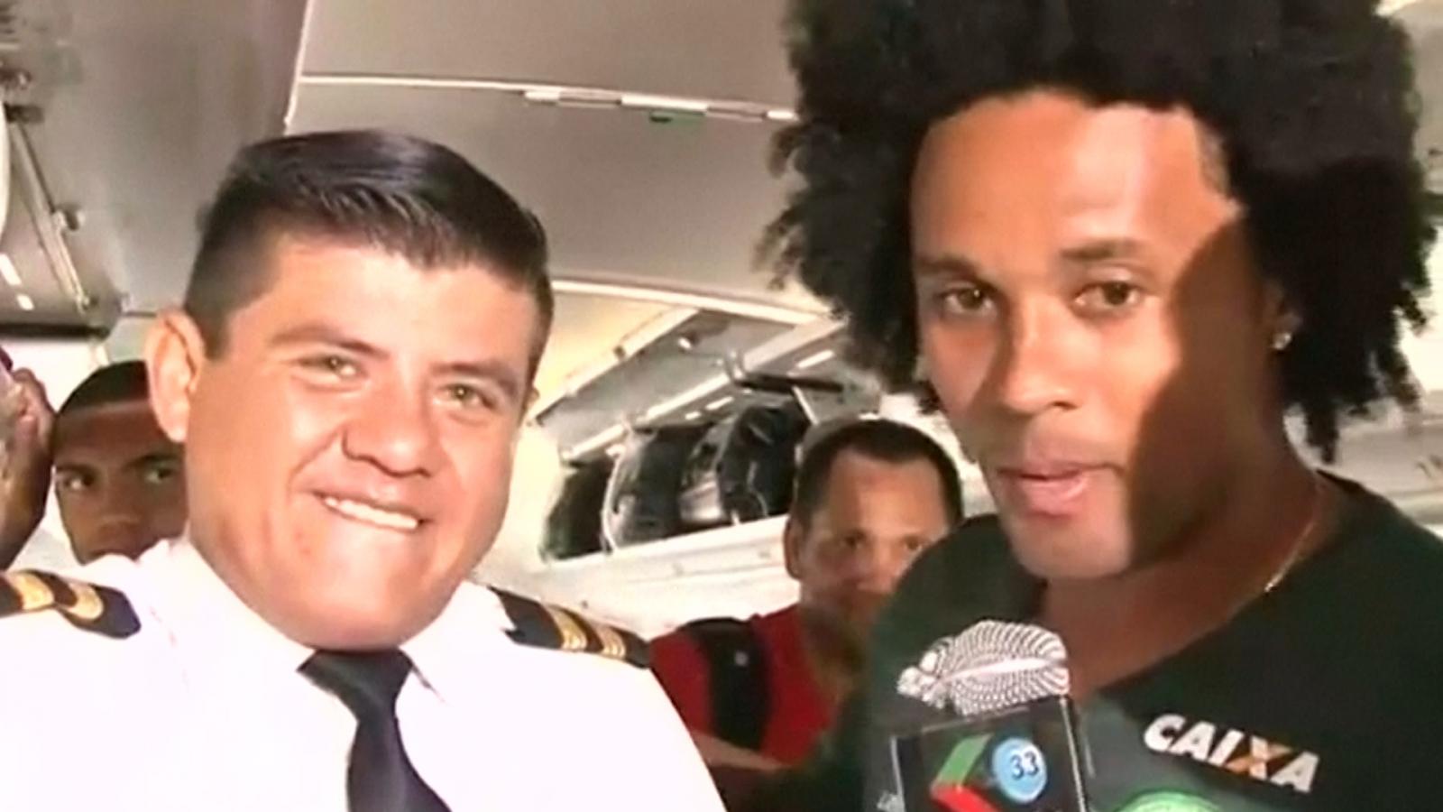 Chapecoense tragedy: Pilot and crew filmed joking on board doomed flight