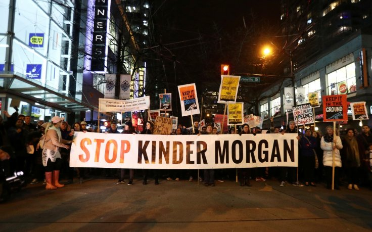 Vancouver protests Kinder Morgan pipeline