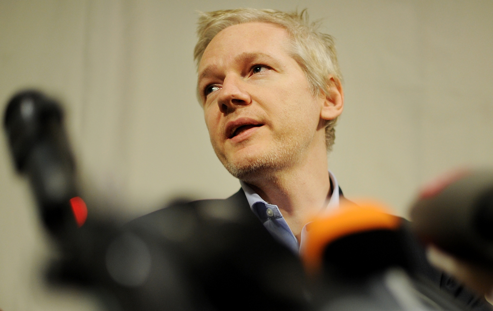 WikiLeaks founder Julian Assange speaks