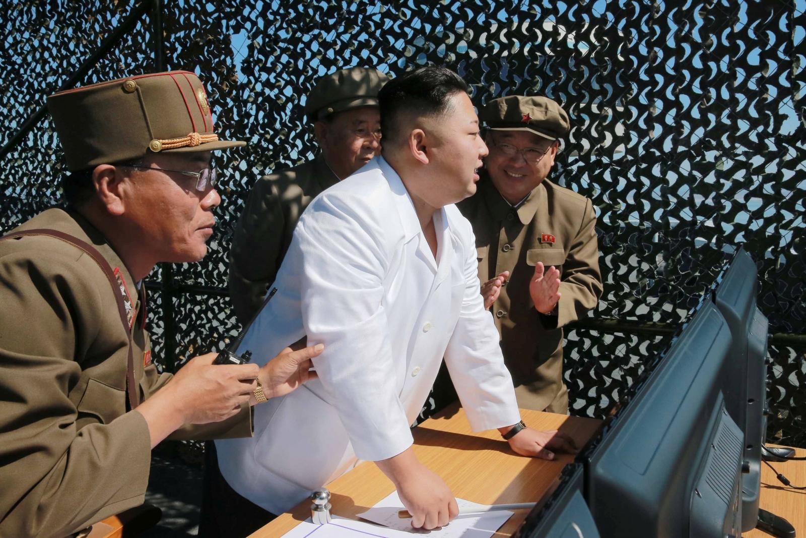 North Korea military drills UN sanctions