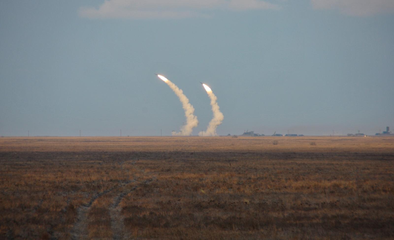 Ukraine missile tests Russia