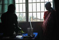 Rape victims in Burundi