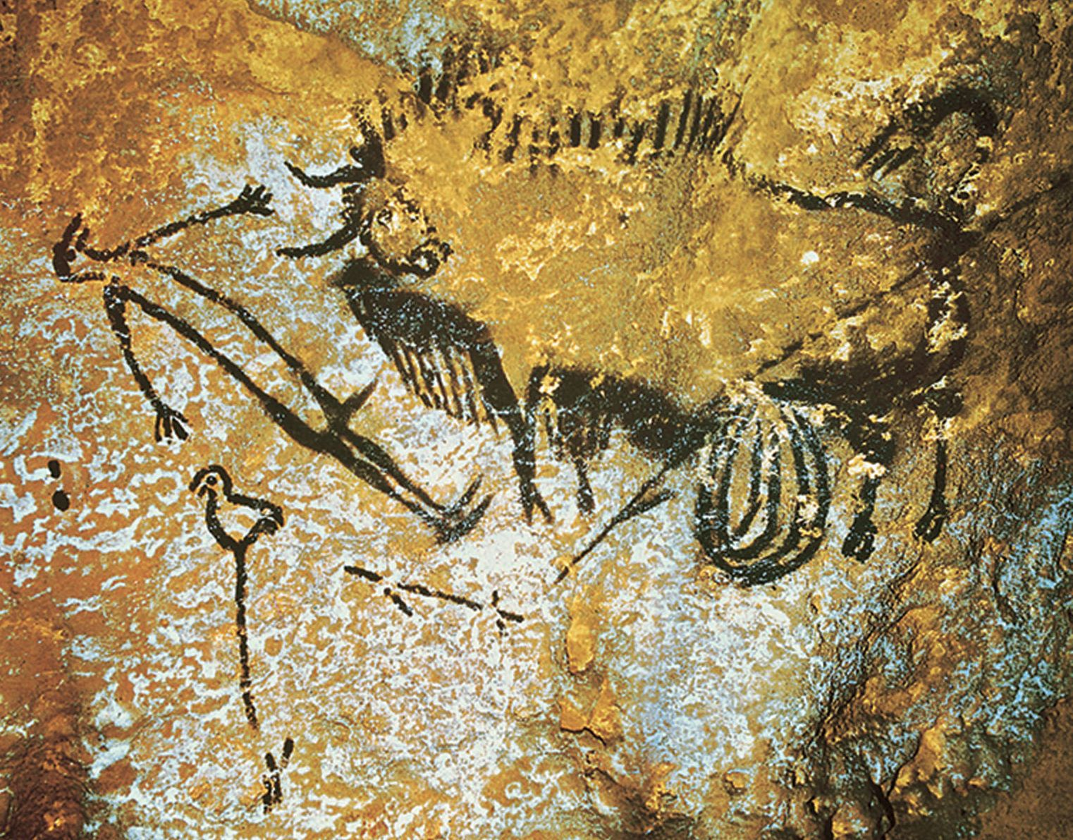 Lascaux cave paintings