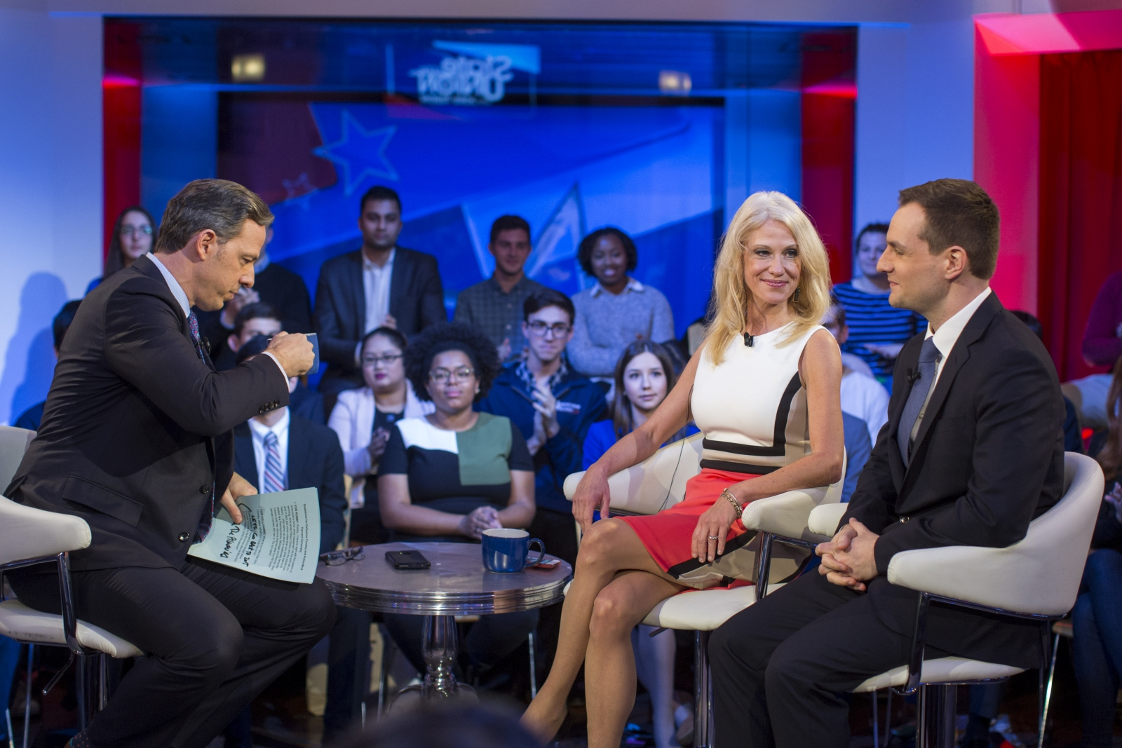 Kellyann Conway and Robby Mook face off