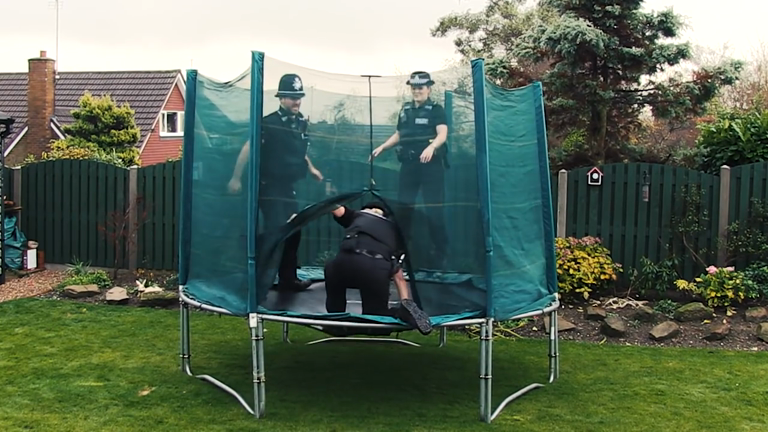 South Yorkshire Police's spoof John Lewis advert warns about Christmas burglaries
