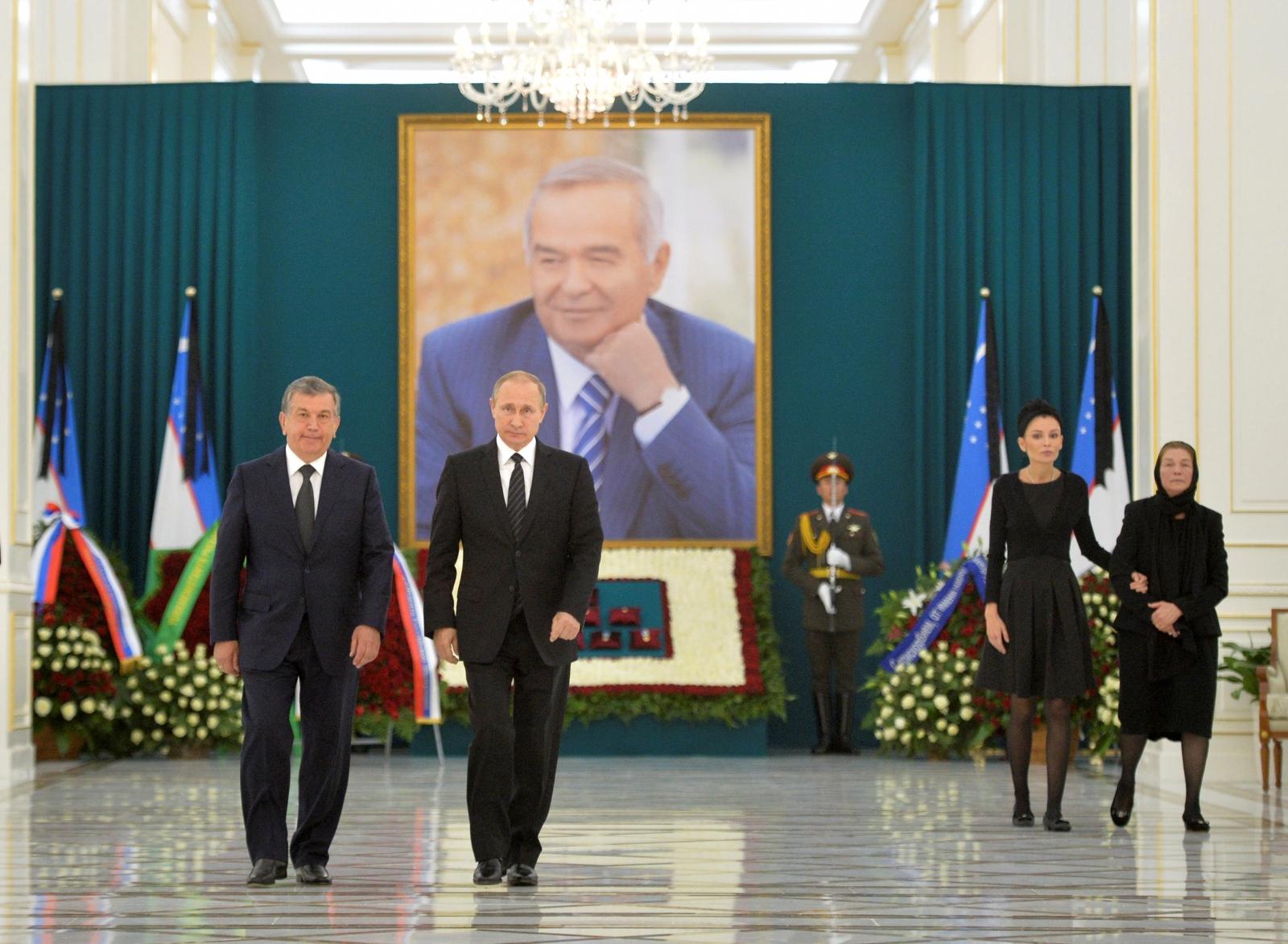 Islam Karimov funeral
