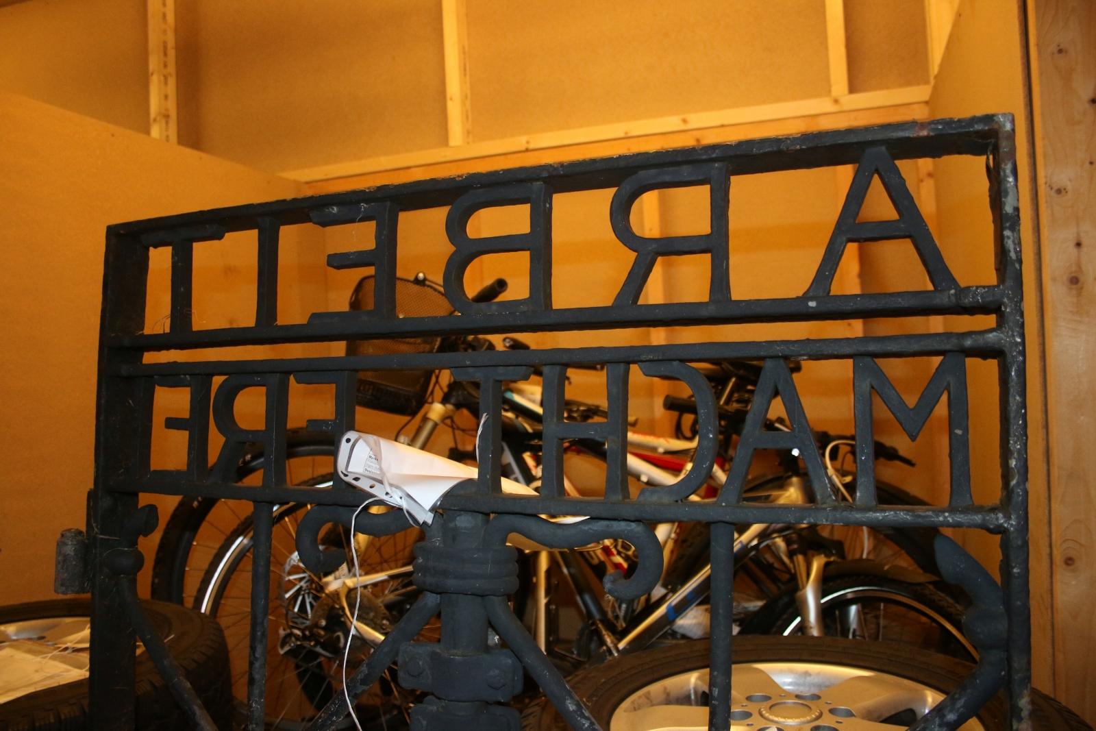 Dachau concentration camp gate