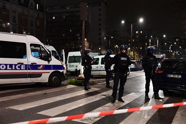 Paris robbery