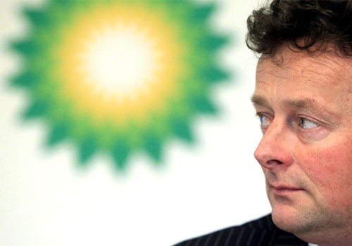 File photo of BP Chief Executive Tony Hayward