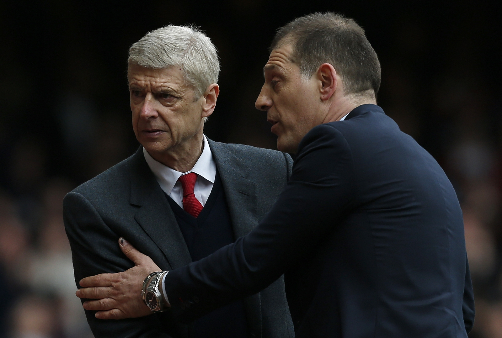 Wenger happy as Bilic looks to restore confidence