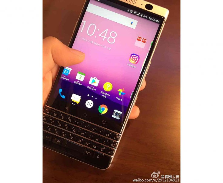 BlackBerry Android 2017 phone