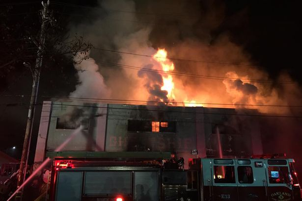 Oakland: Clubbers feared dead after massive inferno at Rave Cave