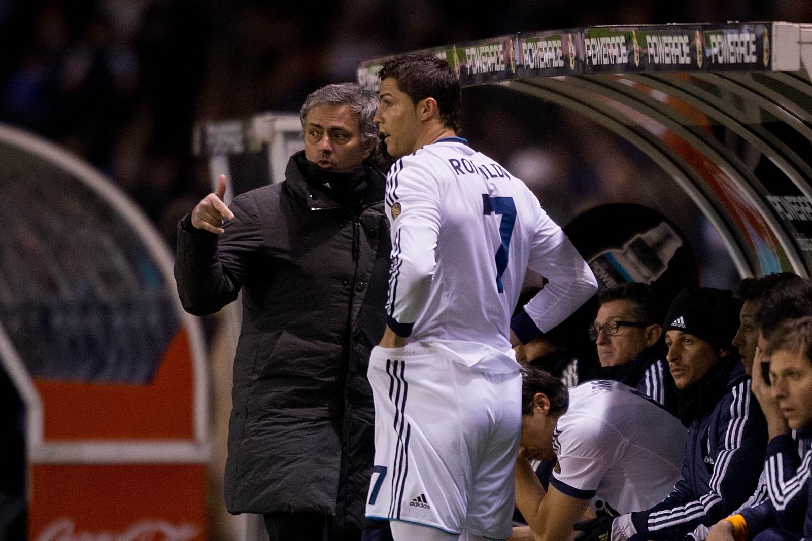 mourinho and ronaldo
