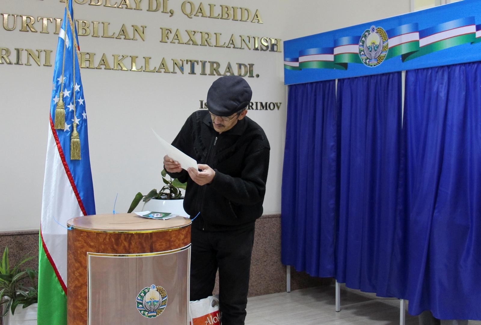 Uzbekistan presidential election