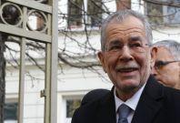 Alexander Van der Bellen in lead inpresidentialelection