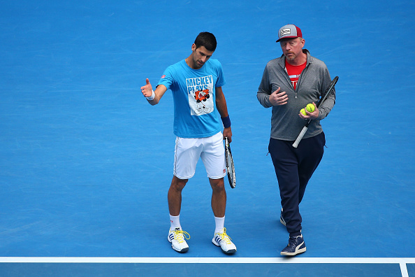boris becker novak djokovic