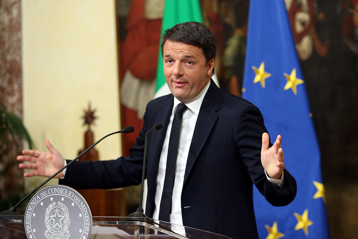 Italian Prime Minister Matteo Renzi resigns after referendum loss