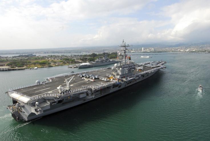 USS Ronald Reagan Pearl Harbor