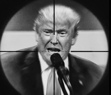 Trump in crosshairs