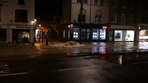 Burst water main forces Islington streets to close