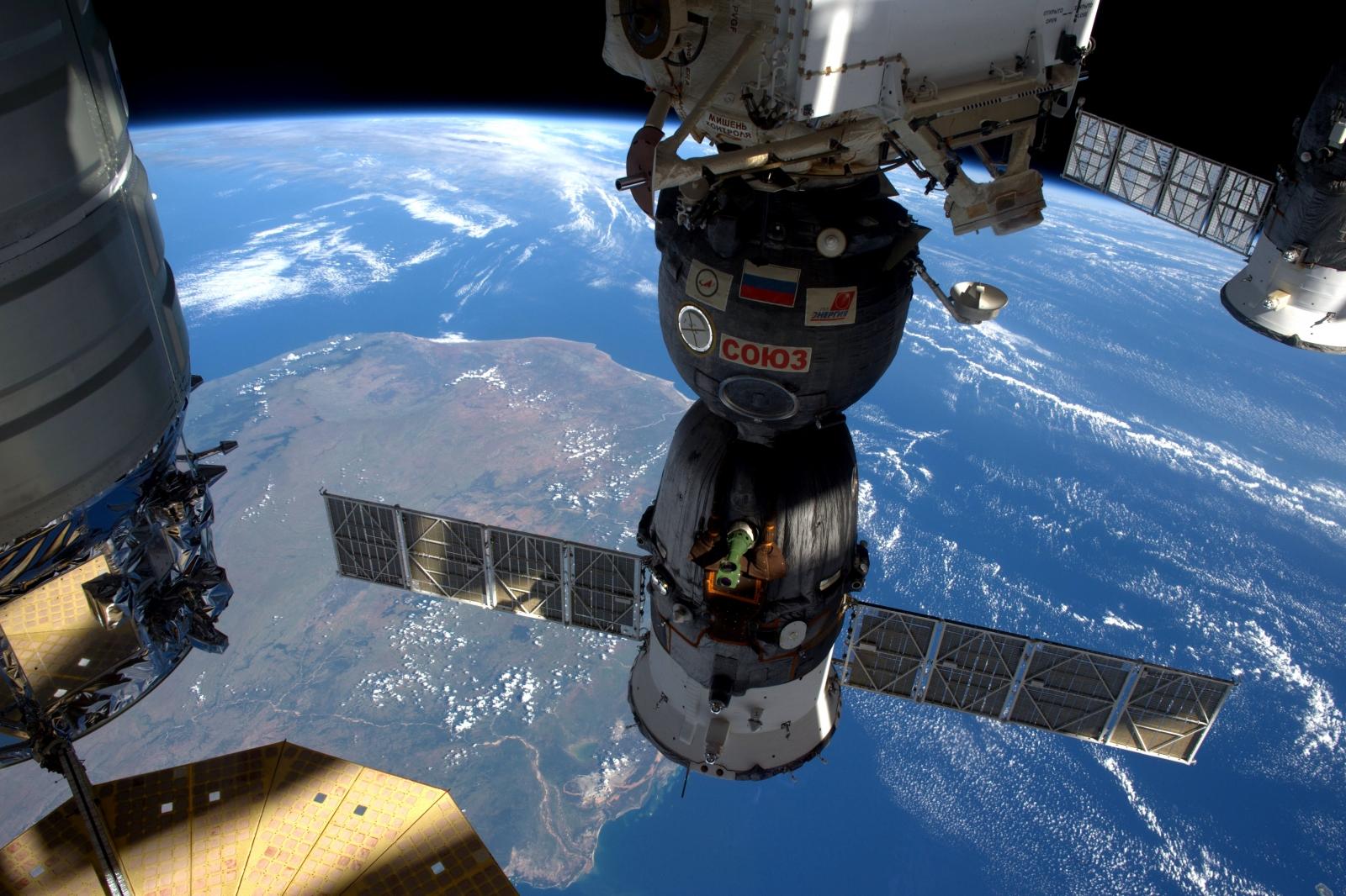 Major Tim's soyuz space capsule to land in the science museum