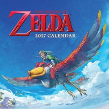 Legend of Zelda calendar 2017