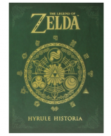 Legend of Zelda Hyrule Historia book
