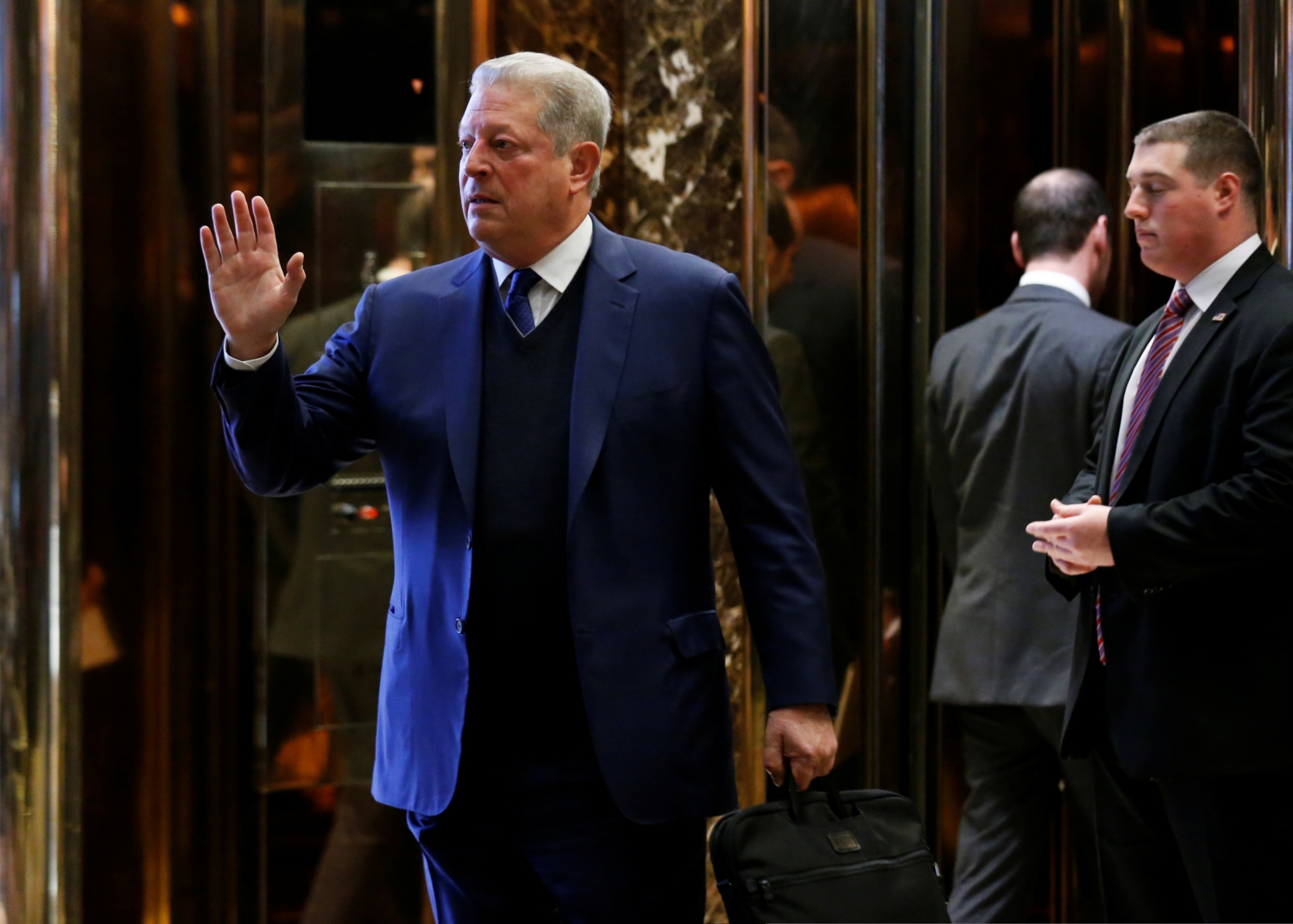 Al Gore calls Donald Trump meeting 'extremely interesting'
