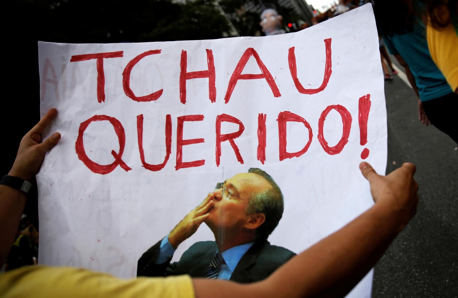 Brazil Senate President Renan Calheiros