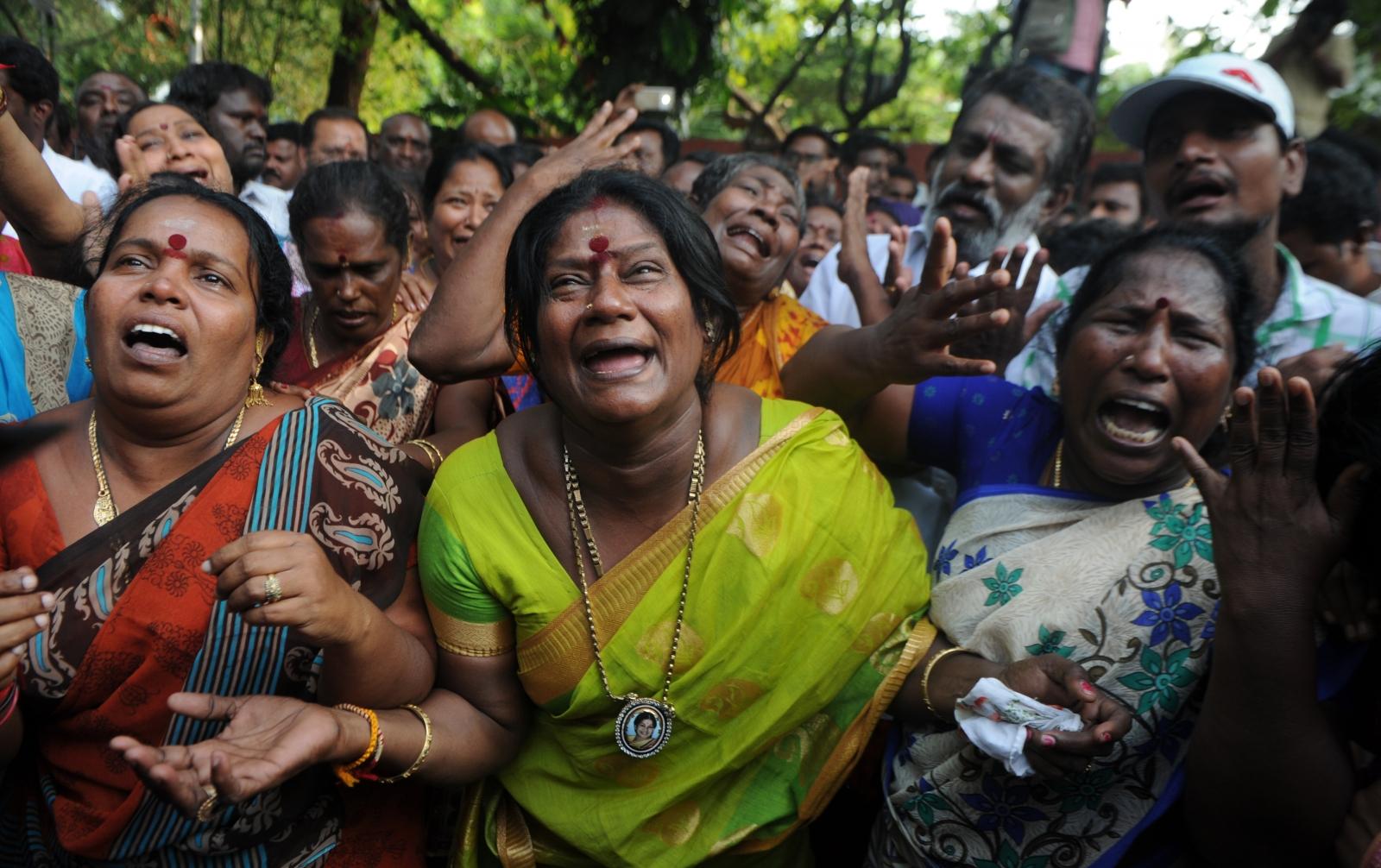 Top Indian politician Jayalalithaa Jayaram, Chief Minister of Tamil Nadu, dies aged 68