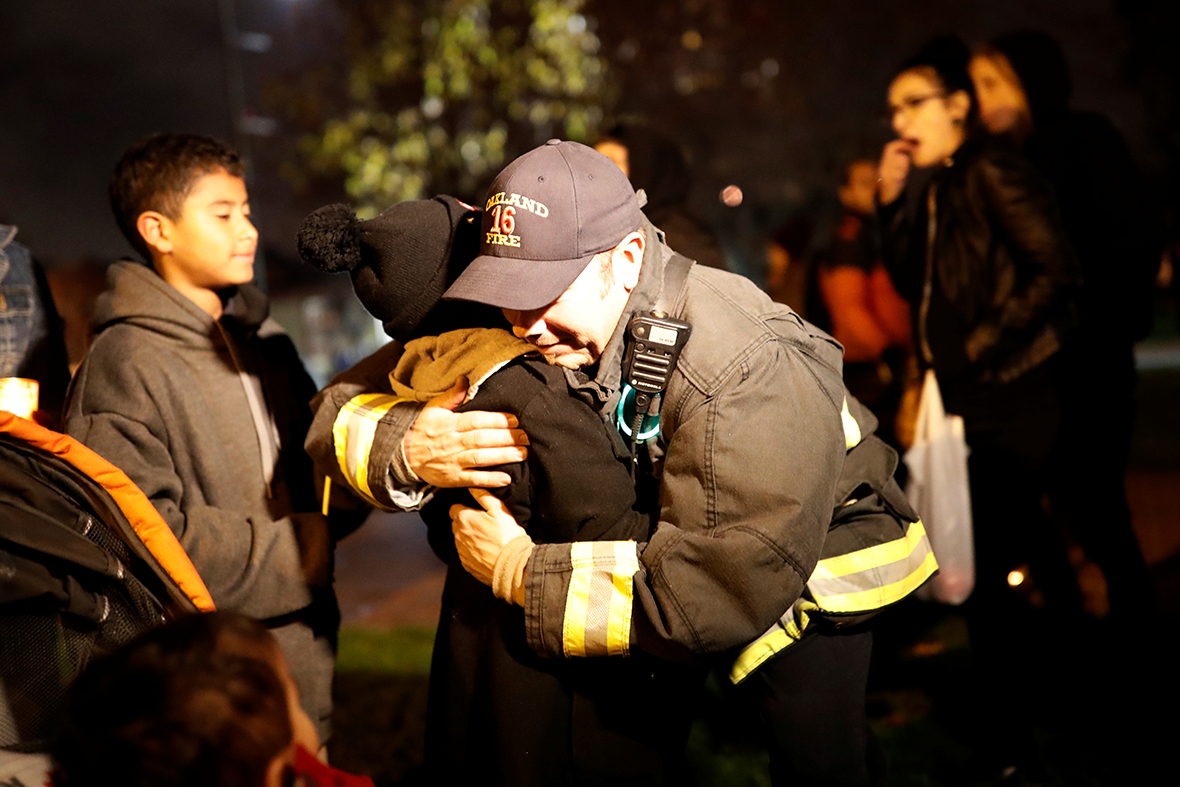 Oakland fire vigil