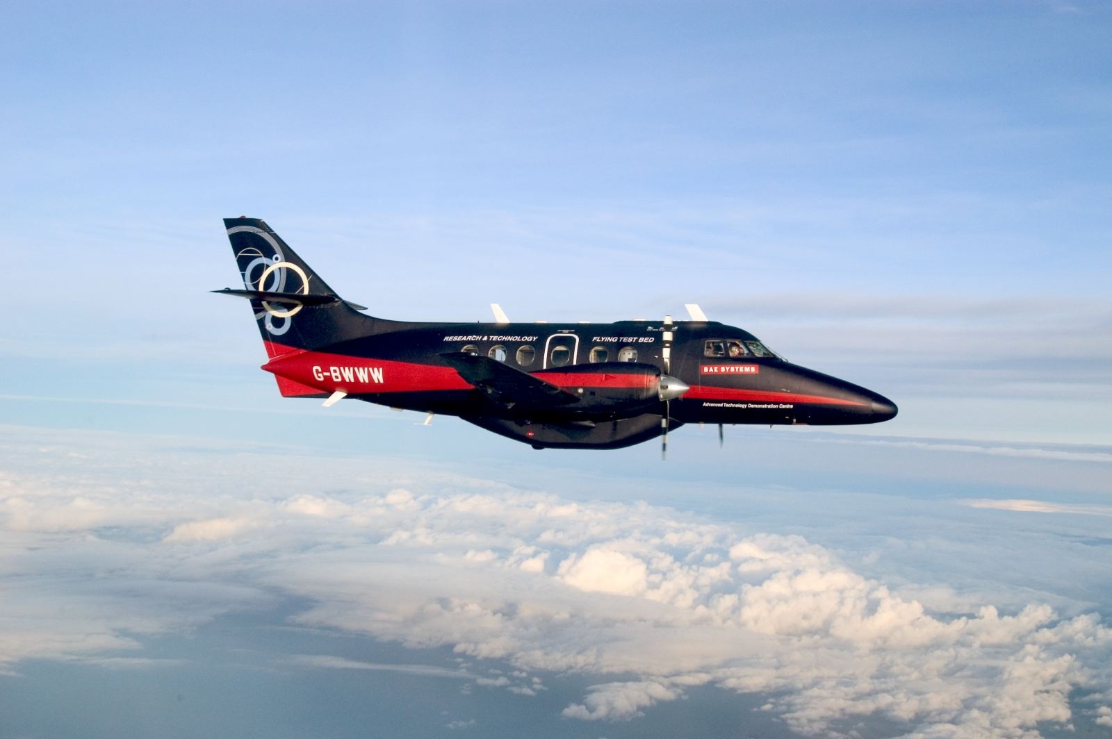 Self-flying autonomous plane BAE Systems