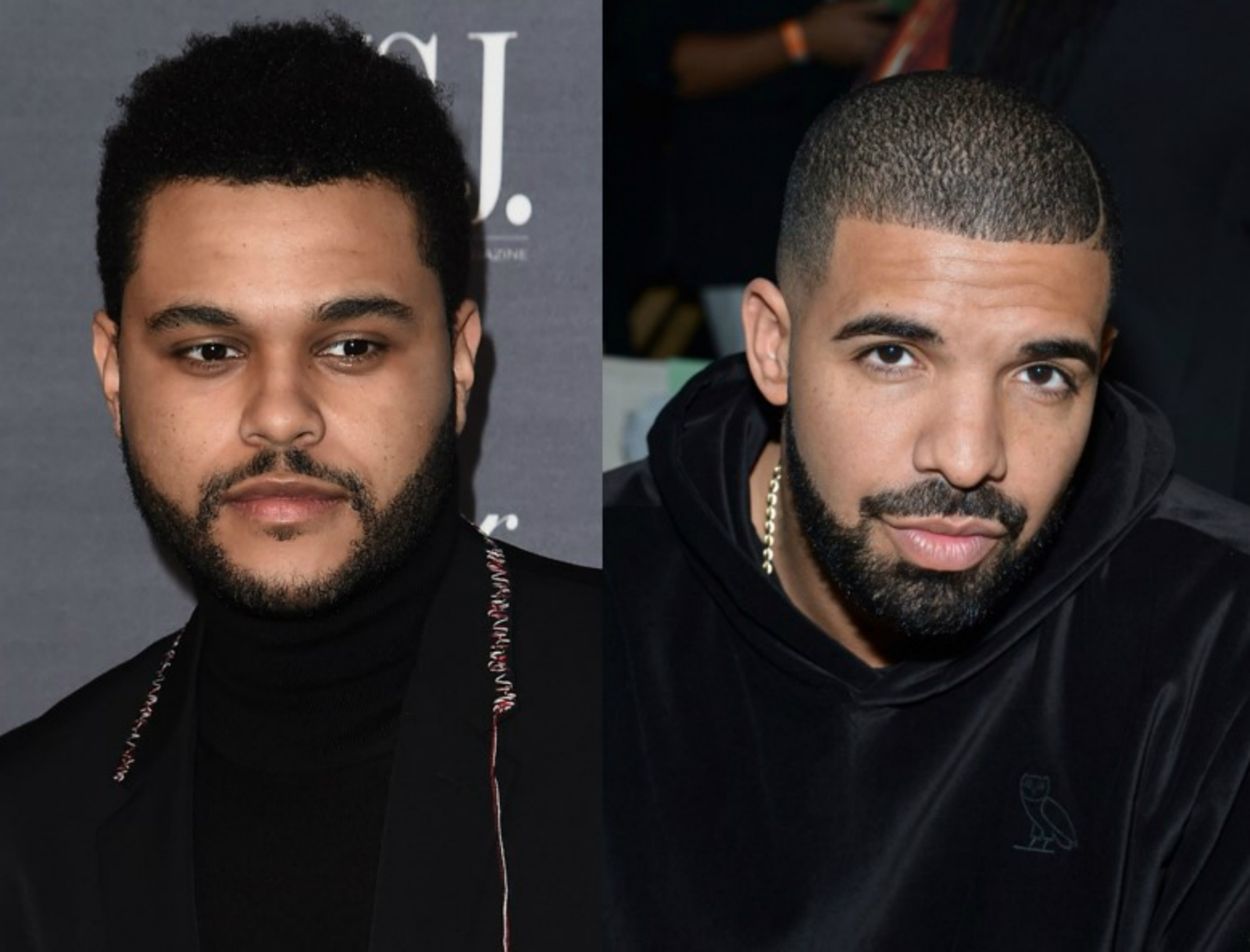 The Weeknd and Drake