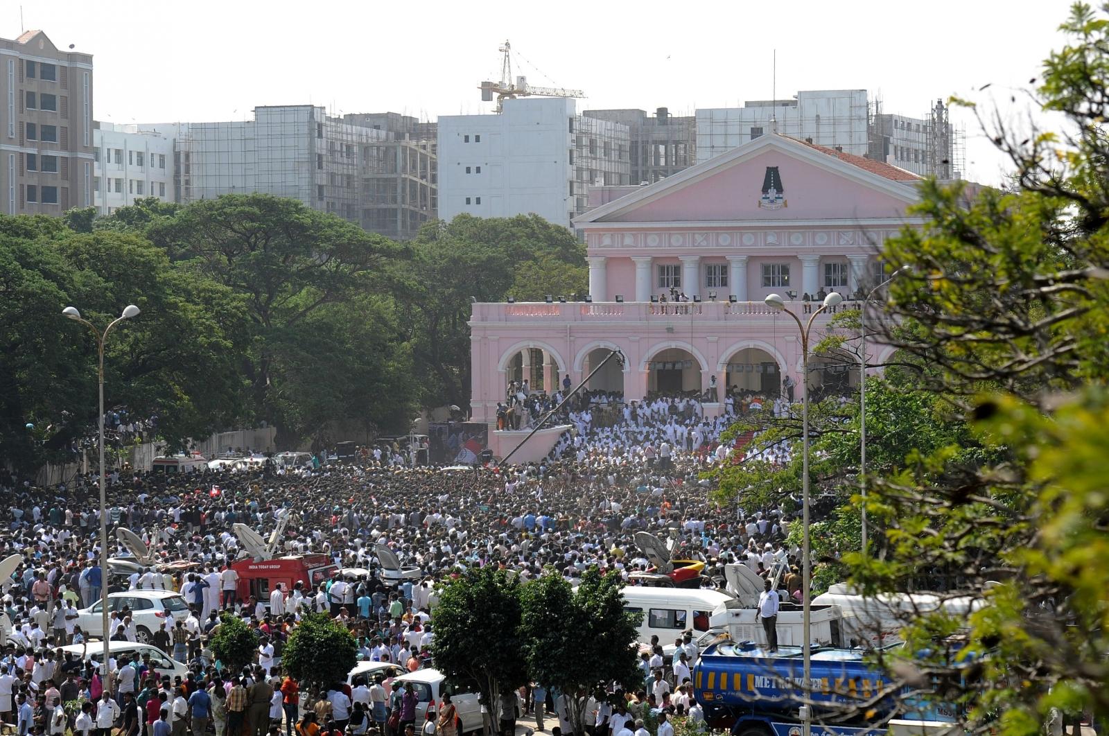 Jayalalithaa Jayaraman death